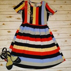 LuLaRoe Striped Dress BNWOT